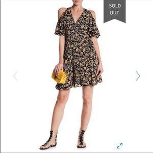 Angie | Cold Shoulder Wrap Dress